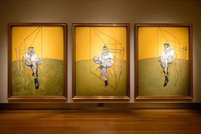 卢西恩·弗洛伊德肖像画习作