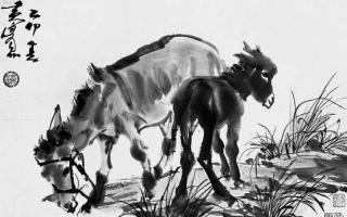 """黄胄: """"驴贩子"""" 与驴的情缘"""