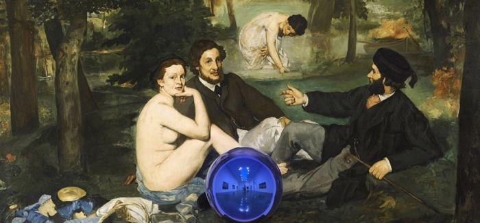 杰夫·昆斯亲解他的凝视球画作: 这不是关于复制