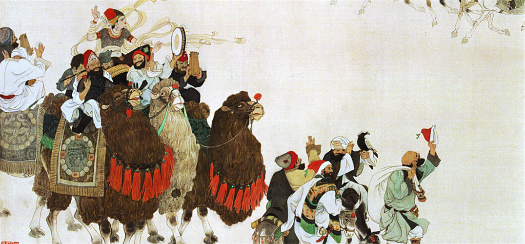 """""""2015中国国家画院丝绸之路采风写生作品展""""12日在中国国家画院美术馆开幕,展出了70余位艺术家两年多在丝绸之路上所取得的阶段性成果。 这数百件作品既有写生途中的随笔感受,也有创作的速写、草图,还有拍摄的影像资料,涵盖国画、油画、版画、雕塑、公共艺术等多种类型。与以往美术创作工程不同的是,展览给了艺术家更大发挥空间,在大量未完成作品中可以看到很多探索性尝试。 国家画院院长杨晓阳介绍,2013年中国国家画院响应国家发展""""一带一路""""战略构想,集中力量搞好创作,"""