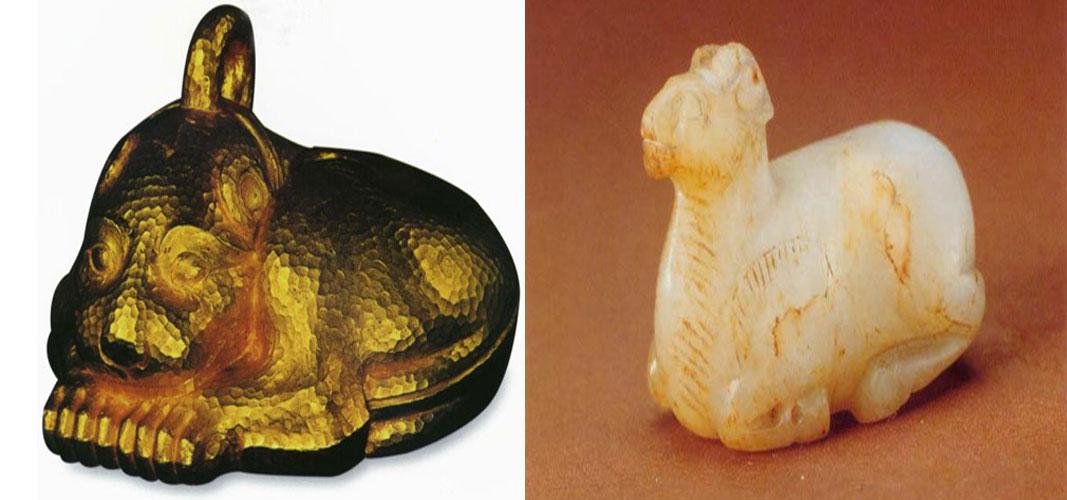 熊在汉代被视为吉祥的动物