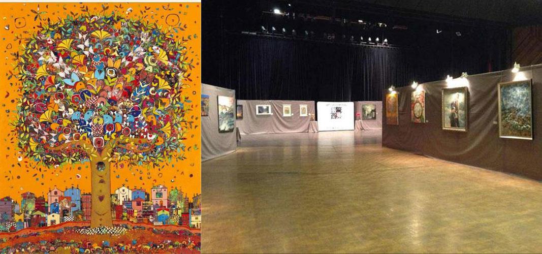 惊东激西:中法当代艺术展举办