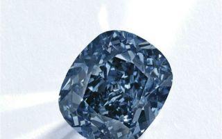 香港藏家以3亿天价拍得罕见蓝钻 刷新宝石世界拍卖记录