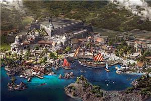 """上海迪士尼发布全球首个""""加勒比海盗""""主题园区"""