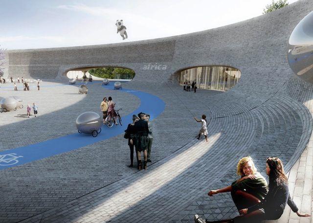 比如他们设计的吉夫斯库动物园,或许可以成为未来动物园改革的范本;与