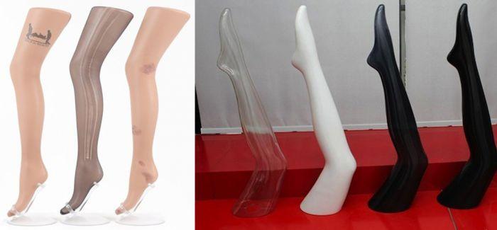 "【Art or Not】邀请你来猜:两组""丝袜美腿""哪个才是真正的艺术?"