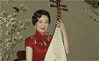 众女神旗袍装拍摄老上海复古画报