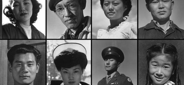 亚当斯镜头下二战时期的日裔美籍:人生而自由 平等