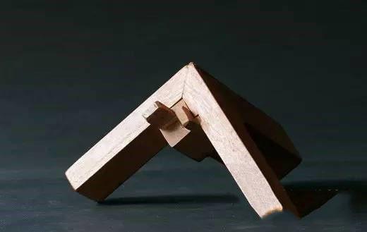 一些简单的榫卯结构示意图