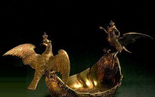 橡叶骑士带你逛博物馆:克里姆林宫收藏的金银器