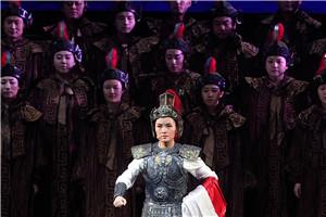"""民族歌剧《木兰诗篇》西宁再现木兰""""替父从军"""""""