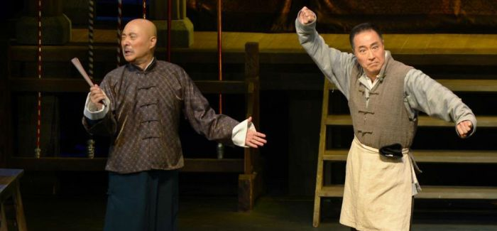 陈佩斯 杨立新合作《戏台》巡演开始