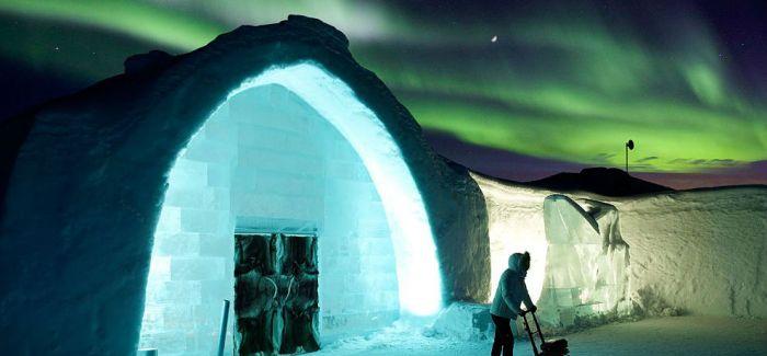 瑞典Icehotel带你体验最迷幻的冰天雪地
