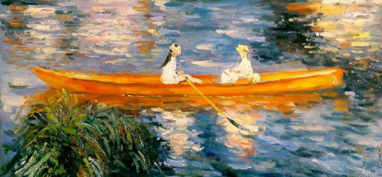 印象派大师雷诺阿经典油画作品高清全集 200 张