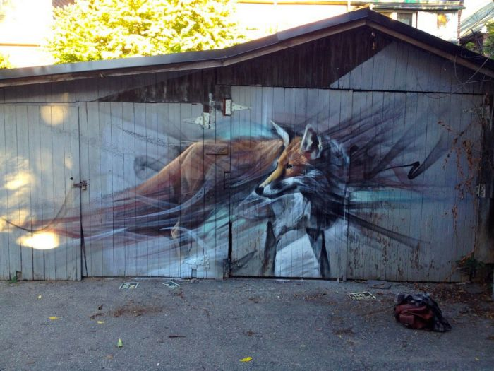 动物墙壁画大全