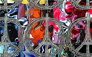 """杨佴旻设计""""巴黎和平"""" 祝福世界"""