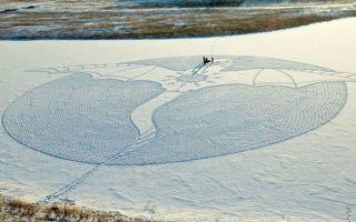 """又到雪季 来看看艺术家如何高端""""玩""""雪"""