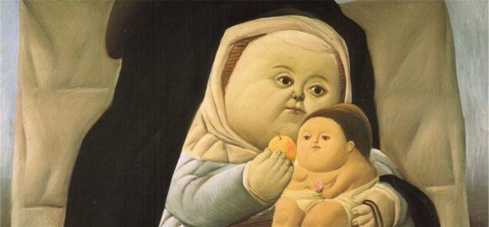 博特罗这世上有个最会画胖子的老头
