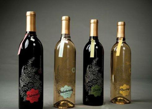 葡萄酒瓶的艺术不仅存在于酒标上