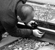 陕西发现110年前清代钢轨 仍在使用