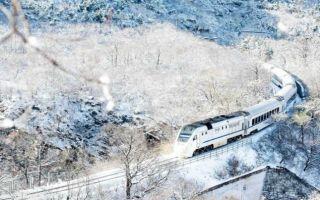梦幻列车 从春日花海一直开进冬日雪域