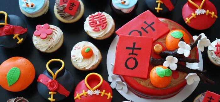 """中国风设计的蛋糕 竟也如此""""秀色可餐"""""""