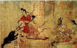 中国名画《女史箴图》搬上互联网 藏于大英博物馆