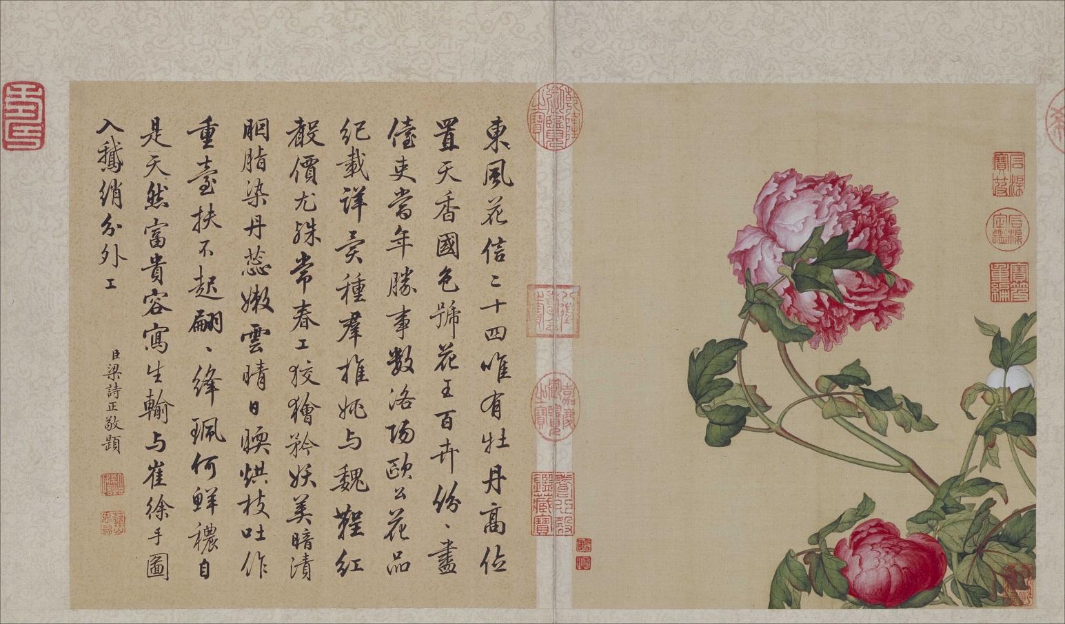 郎世宁《花鸟图册》北京故宫博物院藏2