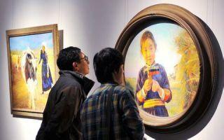 2015中国写实画派油画十一年展开幕