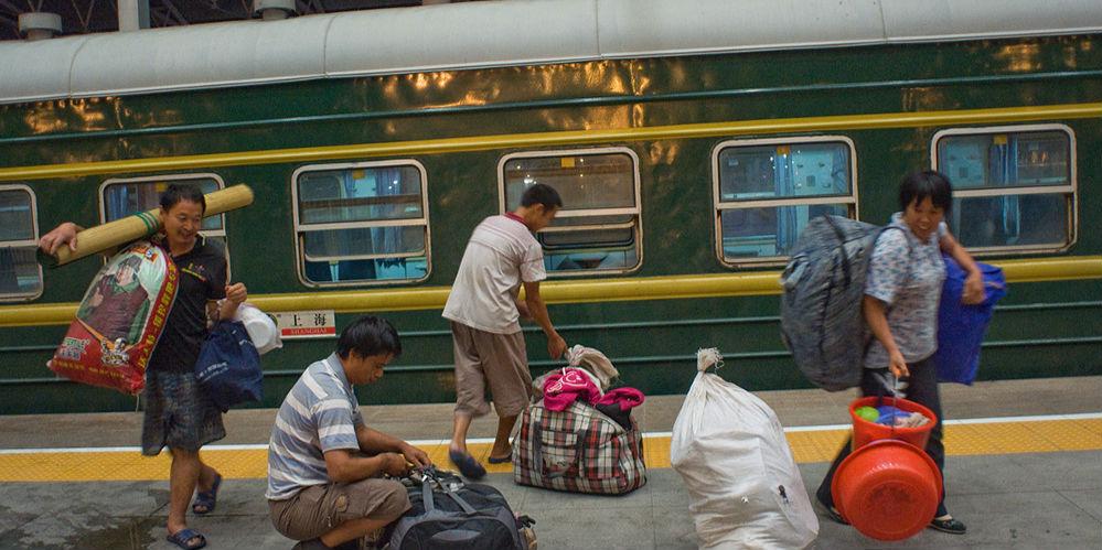 乌兰浩特至阿尔山4345次列车上