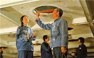 老照片:毛主席纪念堂是怎样建成的