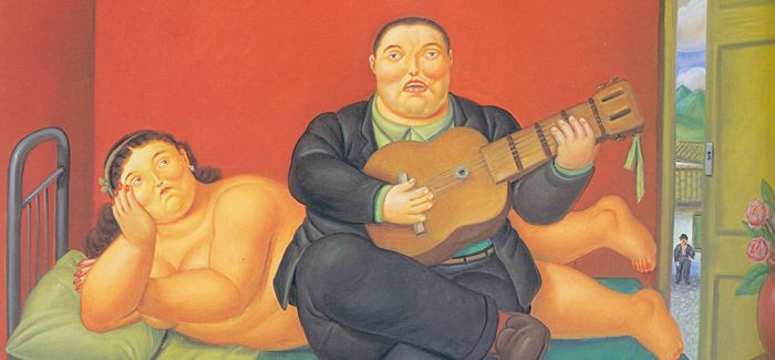 """胖胖的日子 才是云上的日子:看博特罗诙谐诠释""""体积"""""""