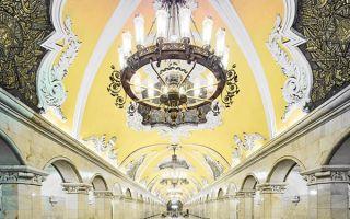 华丽程度让人惊讶的俄罗斯地铁站
