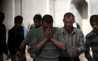 被空袭的叙利亚