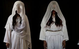 逃离ISIS魔爪的女性受害者