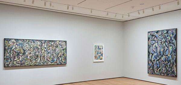波洛克20余年创作全梳理 50幅经典作品亮相MoMA