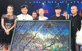 冯小刚与曾梵志跨界合作油画《一念》拍出1700万