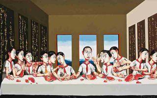 曾梵志油画拍出过亿遭质疑 业内:违背价值规律