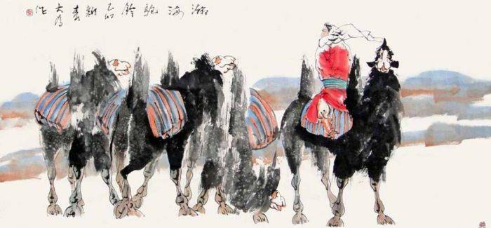 当代中国画写生创作作品展