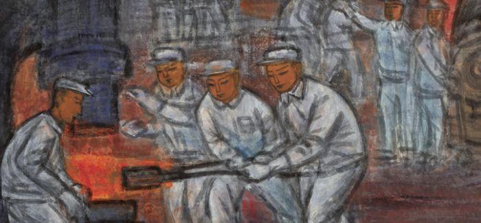 """""""河山色染:绘出新中国""""巡展第三站于龙美术馆揭幕"""
