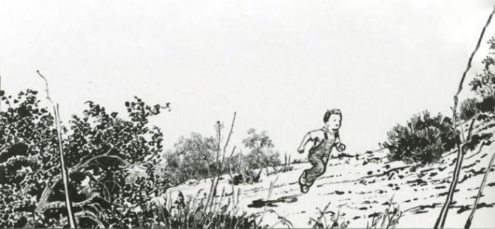 法国漫画家 美国老兵 和中国水墨风漫画