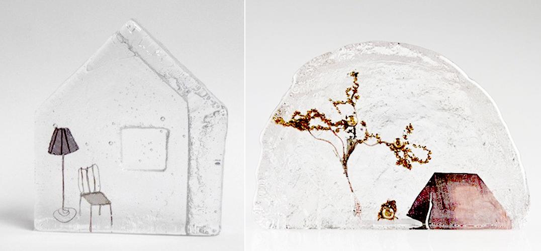 """""""冻结""""平凡生活:艺术家Jenny Ayrton的玻璃雕塑"""