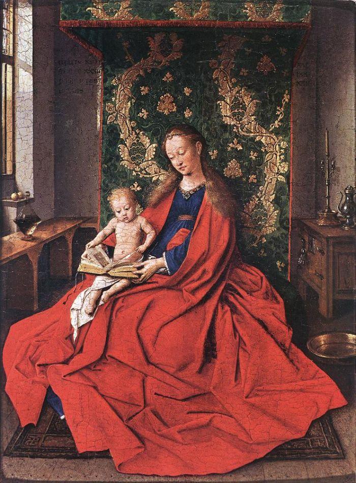 43 胡伯特·凡·艾克 Hubet Van Eyck (1370-1426年)  尼德兰画家 - sdjnwzg - WZG的博客