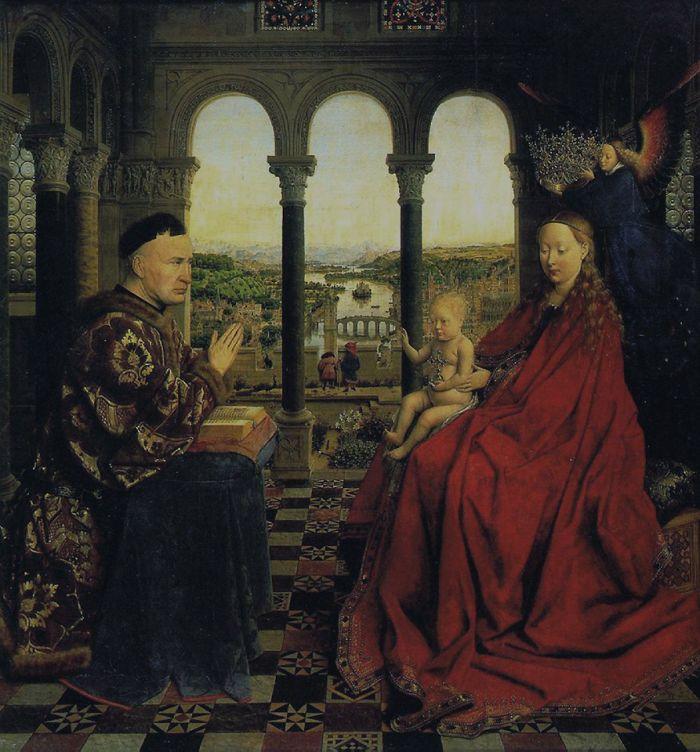 扬·范·艾克Jan van Eyck作品选粹(尼德兰文艺复兴奠基者) - 潮河边人 - 潮河边人博客