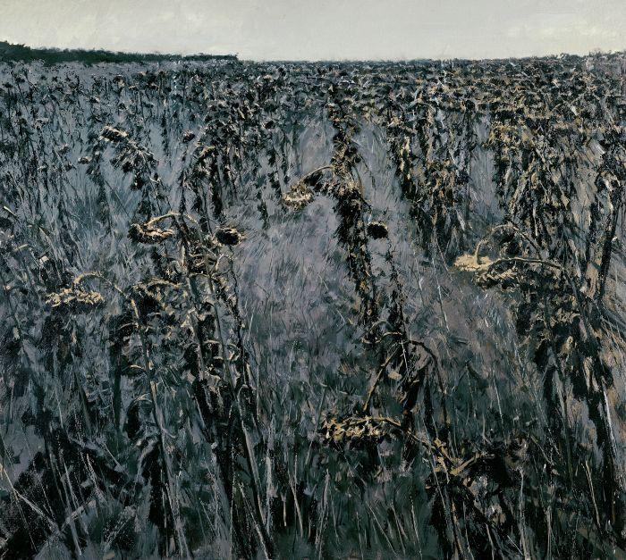 葵园十二景-西风瘦Ⅰ布面油画Ⅰ180cm×200cmⅠ2005