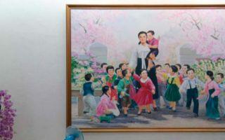 来自朝鲜的室内设计:与前苏联时代风格傻傻分不清