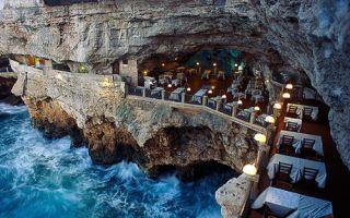 举头赏美景低头品美食 全球十大奇景餐厅