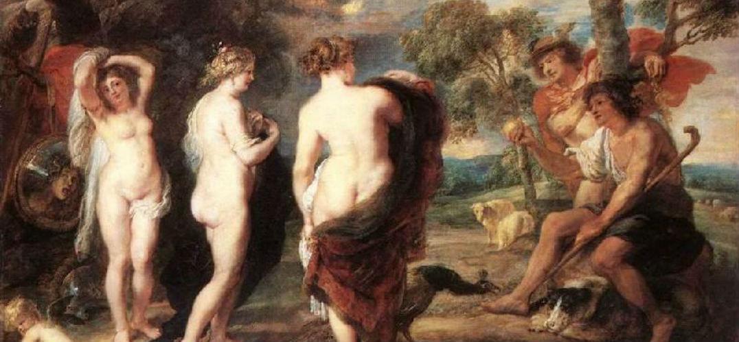彼得·保罗·鲁本斯,Peter Paul Rubens(1577.6.28——1640.5.30)出生于德国的茨根小城一个律师家庭。9岁时随父母移居佛兰德斯,定居安特卫普。父亲去世后,母亲送他进一所拉丁文学校学习,他能阅读古希腊罗马书籍原著。1608年,与名律师兼人文主义者布兰特结婚,画家为妻子画过不少著名的肖像,所作一批以宗教和神话为题材的油画《复活》、《爱之园》、《末日审判》等,笔法洒脱自如,整体感强。特点是将文艺复兴美术的高超技巧及人文主义思想和佛