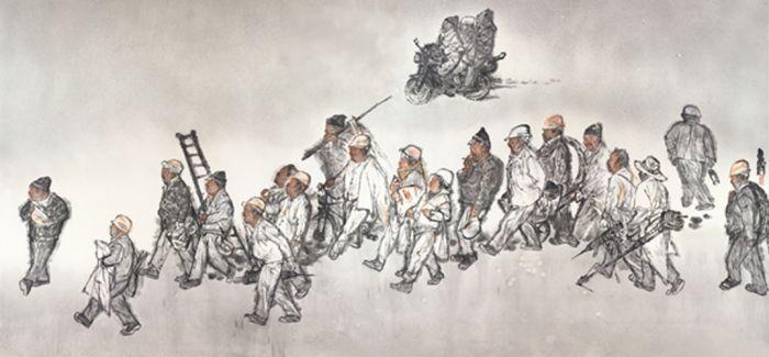 """20位当代中国画家的""""水墨本色"""""""