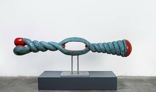 吴少湘《绳》,1987(2014年铸铜) 致谢:艺术家本人及林大艺术中心